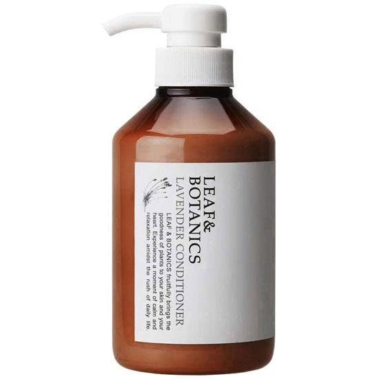 LEAFBOTANICS コンディショナーLY 天然精油の香り ノンシリコンリンス 松山油脂 100%品質保証 リーフ LY 400mL ボタニクス コンディショナー ラベンダー 値下げ