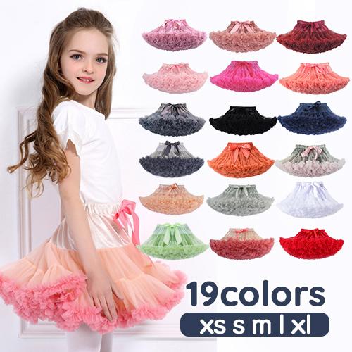 All 21 Colors Of Tutu Skirt Panniers Style Tulle Skirt Korea Children S Clothes Tutus Katz Pannier Dance Presentation Princess Miniskirt