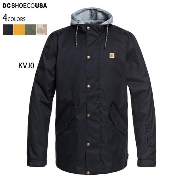 【値下げしました!】DC スノーボードウェア メンズ スノボ ジャケット 10K フード脱着可 UNION JKT 黒