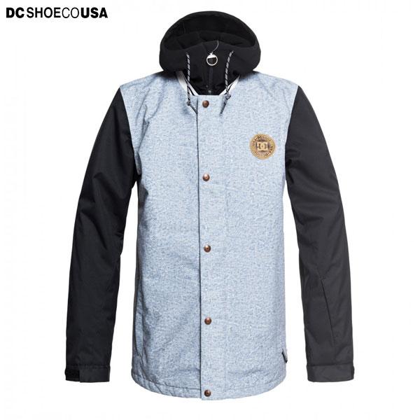 DC SHOE ディーシー スノーボードウェア メンズ ジャケット レギュラーフィット 10K 耐水 DCLA JKT
