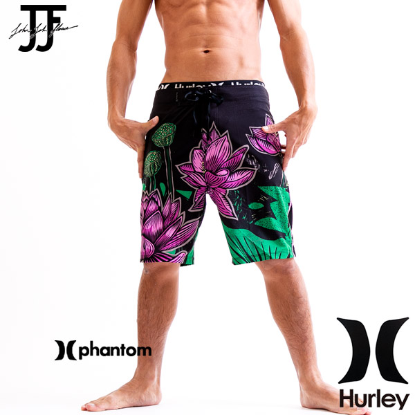 8da35fd8b3 yoko-nori: HURLEY Harley swimsuit men surf underwear black PHANTOM 5.0 LOTUS  19 length | Rakuten Global Market