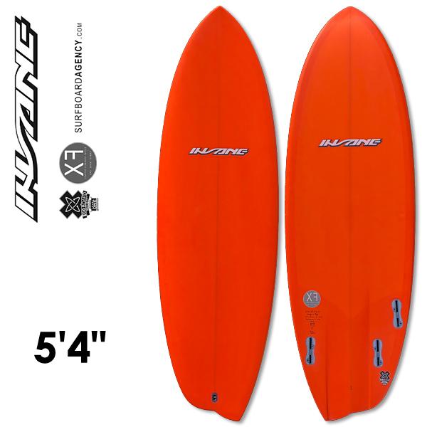 INSANE サーフボード 5'4