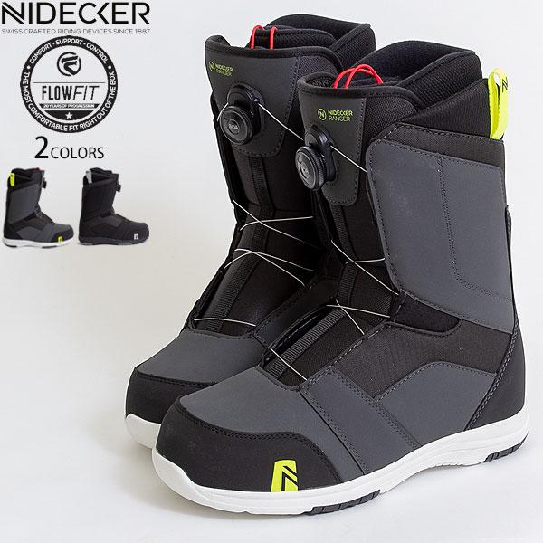 【値下げしました!】スノボー ブーツ スノーボード メンズ NIDECKER FLOW ナイデッカー BOA ボア RANGER メーカー1年保証付き