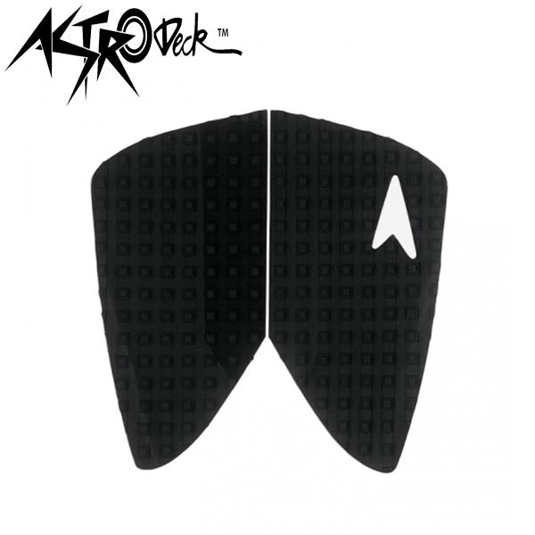アストロデッキ デッキパッド RETRO フィッシュ ブラック ショートボード サーフィン