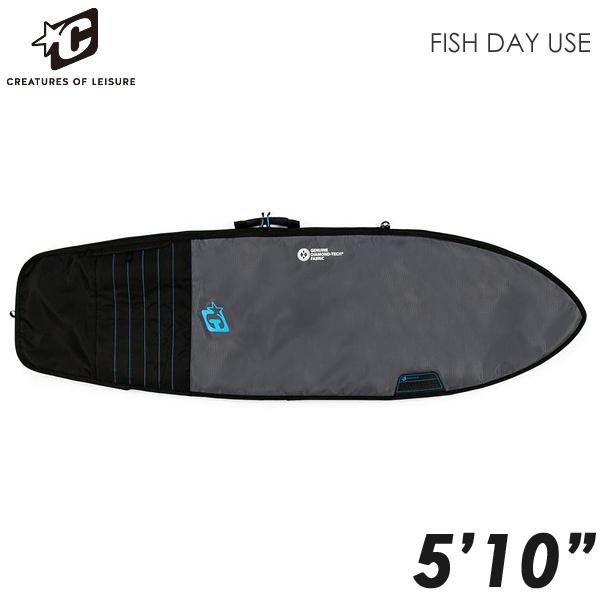 CREATURES ハードケース DAY USE RETRO/FISH 5'10