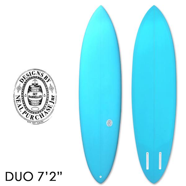 ニールパーチェスジュニア サーフボード DUO デュオ 7'2