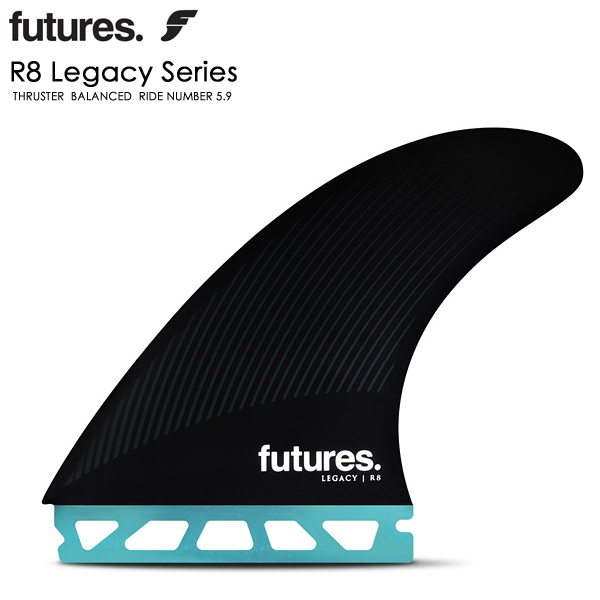 FUTURES FIN フューチャー フィン LEGACY R8 トライフィン RTM HEX サーフィン ショートボード