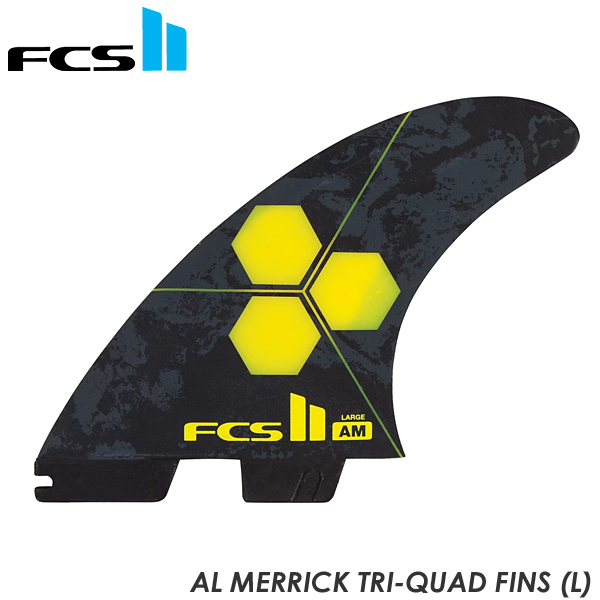 FCS2 5フィン FIN フィン AM Tri-Quad Performance Core アルメリック AL MERRICK Lサイズ 2020年モデル