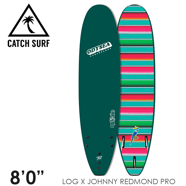 【3月-6月頃の間に入荷後発送・ノークレームでお願いします】CATCH SURF キャッチサーフ ODYSEA LOG 8'0