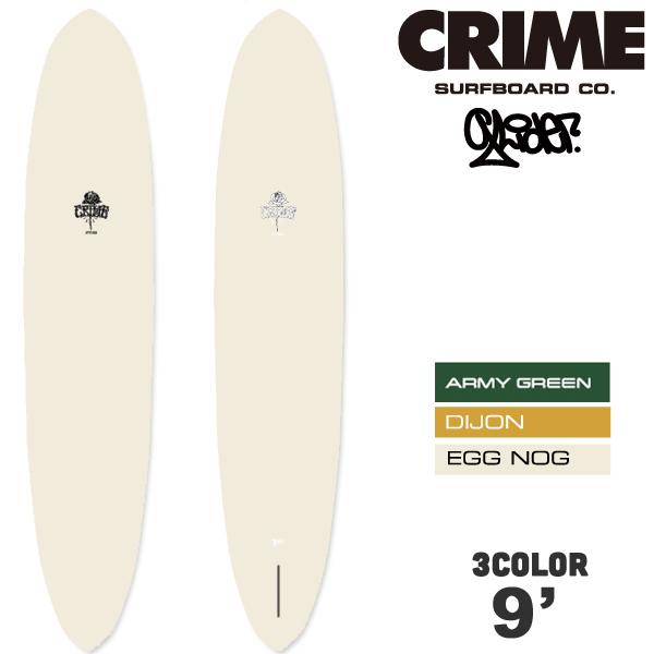 【4月-7月頃の間に入荷後発送】CRIME SURFBOARDS クライム サーフボード GLIDER 9'0