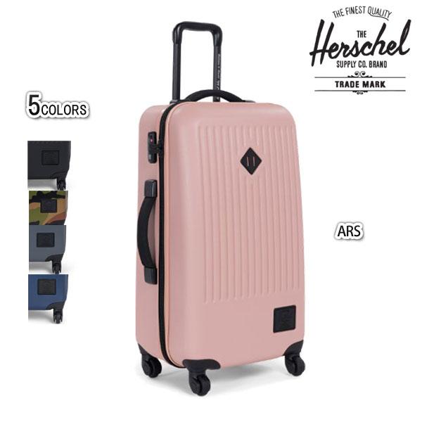 スーツケース おすすめ キャリーバック ハード 鍵 おしゃれ ブランド ハーシェル 66L