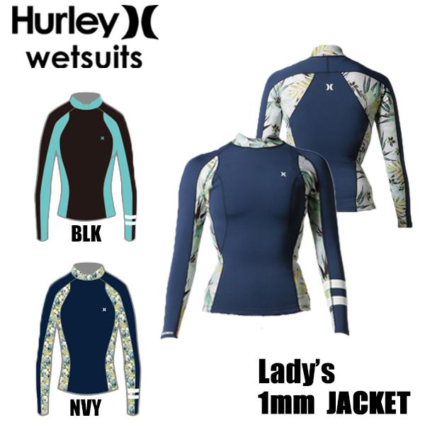 HURLEY ハーレー ウェットスーツ レディース WMS ICON 1MM JACKET タッパー GZLSJK18