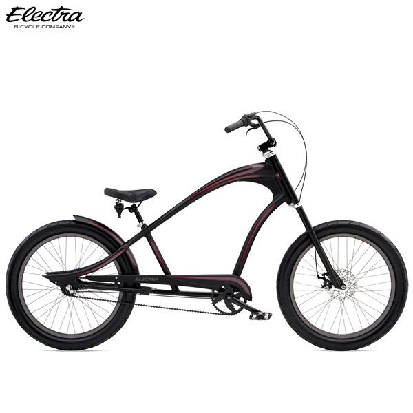 """ビーチクルーザー ELECTRA エレクトラ """"REVIL 3i"""" 24インチ マットブラック 自転車"""