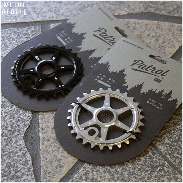"BMX WETHEPEOPLE ""PATROL SPROCKET"" スプロケット 2色バリ 自転車"