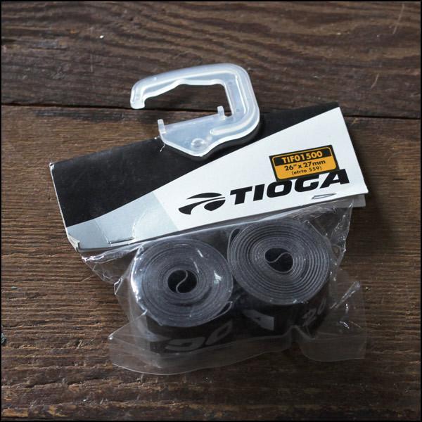 "TIOGA タイオガ ""ナイロンリムテープ"" 26×27mm リムバンド 自転車"