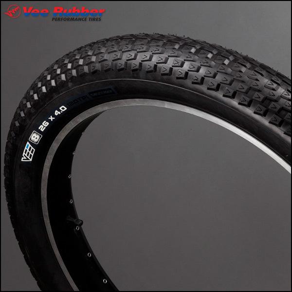 ファットタイヤ Vee エイト 26 x 4.0 ケブラービート FATBIKE ファットバイク タイヤ
