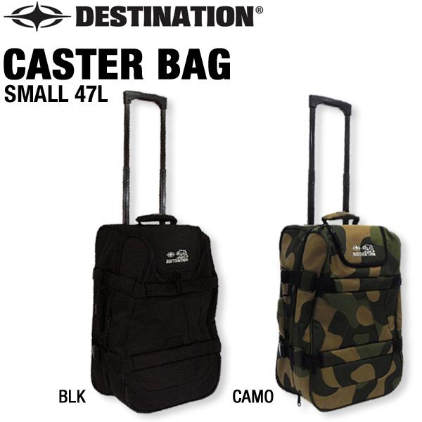 【20%OFF】DESTINATION デスティネーション スモール キャスターバッグ 機内持ち込みサイズ Small Caster Bag