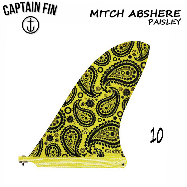 CAPTAIN FIN キャプテンフィン Mitch Abshere Paisley 10inch シングルフィン ロングボード センターフィン サーフィン