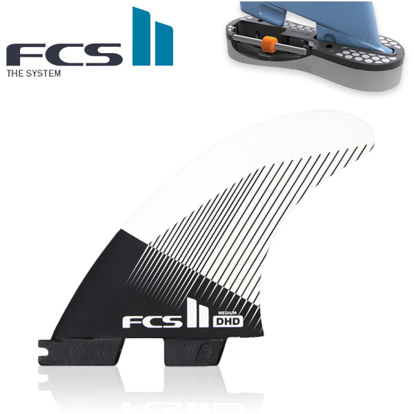 FCS2 エフシーエス2 フィン DHD Performance Core ダレンハンドレー トライフィン