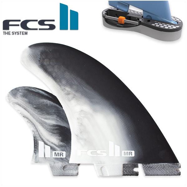 FCS2 FIN エフシーエス2 フィン MR Performance Core マーク・リチャーズ MARK RICHARDS トライフィン ツインスタビライザー WHITE/BLACK