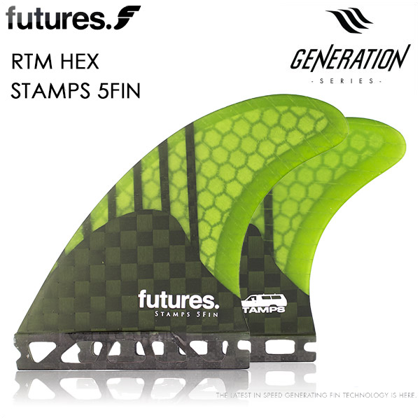 futures. フューチャーフィン FUTURE FIN 5フィン RTM HEX V2 STAMPS 5FIN サーフィン ALTERNATE
