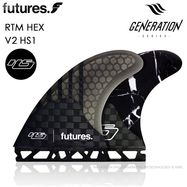 futures. FUTURE FIN フューチャー フィン GENERATION RTM HEX HS-1 Hayden Shapes Large トライフィン ショートボード サーフィン