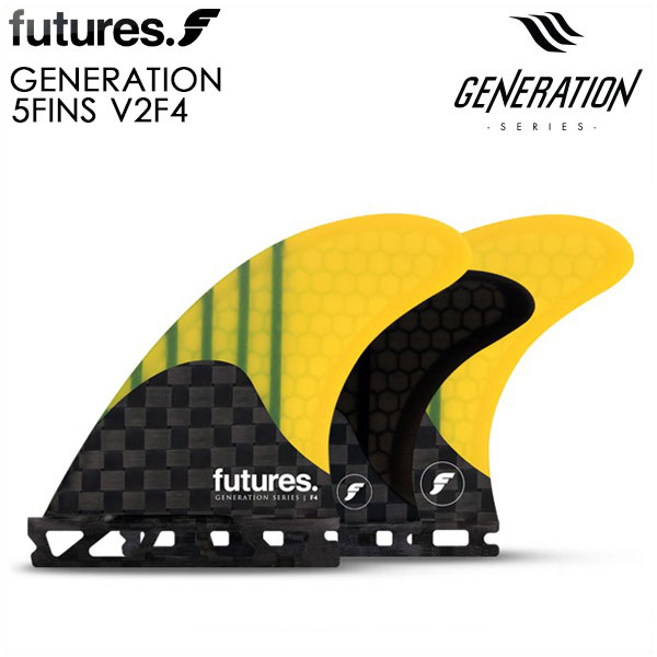 FUTURE FIN フューチャーフィン フィン 5フィン futures. GENERATION V2F4 5FIN サーフィン ALTERNATE