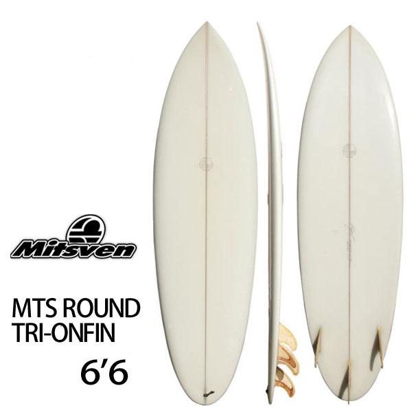 中古 サーフボード ボブミツヴェン Bob Mitsven MTS ROUND TRI-ONFIN 6'6