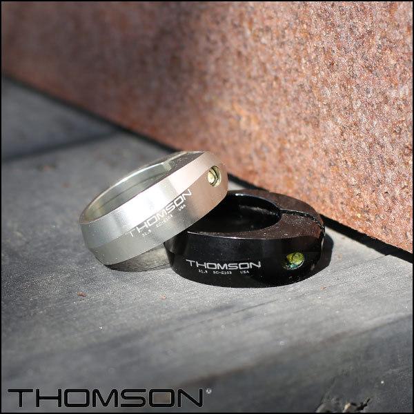 """THOMSON トムソン """"COLLAR"""" シートカラー 31.8mm 2色バリ シートクランプ 自転車"""