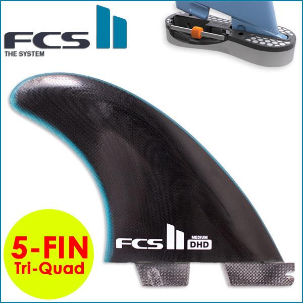 FCS2 5フィン FIN エフシーエス2 フィン DHD Tri-Quad Performance Glass ダレンハンドレー トライクアッドフィン 5-Fin MEDIUM