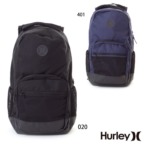 Hurley ハーレー メンズ リュック バックパック デイバック 耐水加工 PATROL BACKPACK 23L 収納 旅行