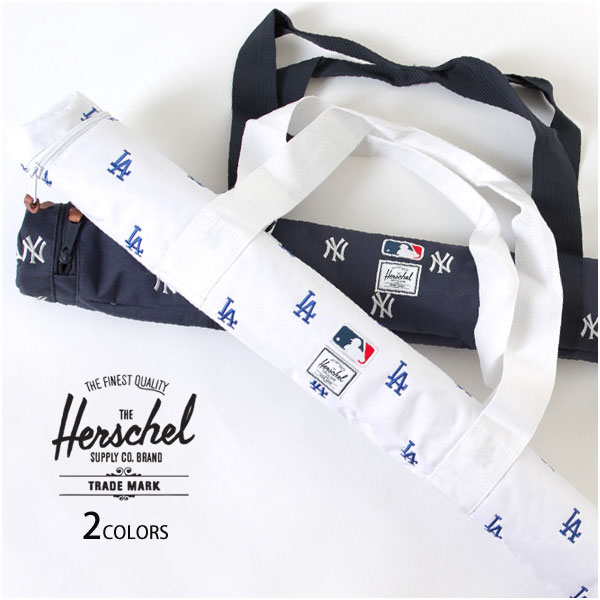 HERSCHEL SUPPLY ハーシェルサプライ バットケース バットバッグ MLBコレクション NYヤンキース LAドジャース BAT BAG