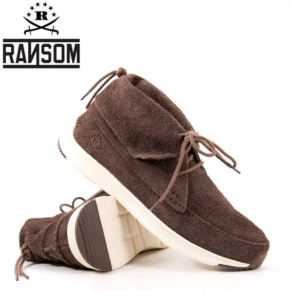 【値下げしました!】RANSOM ランソム シューズ ALTA MID アルタミッド メンズ レディース スニーカー チョコレート/ボーン 正規販売店