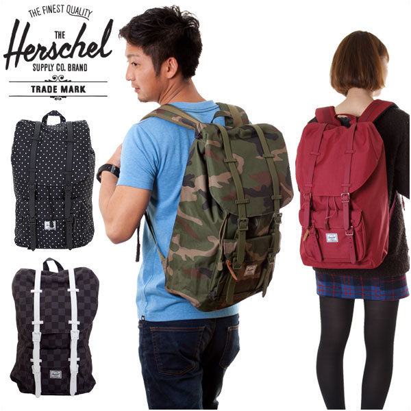【20%OFF!SALE】HERSCHEL SUPPLY ハーシェル リュック バックパック WEAT LITTLE AMERICA 23.5L 全4色
