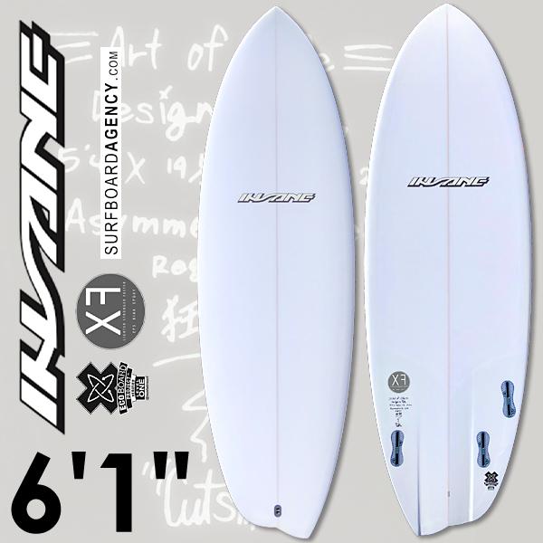 【ポイントアップ】インセーン サーフボード 6'1