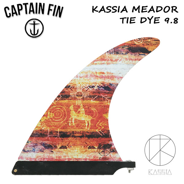CAPTAIN FIN キャプテンフィン KASSIA MEADOR 9.8 ロングボード フィン サーフィン