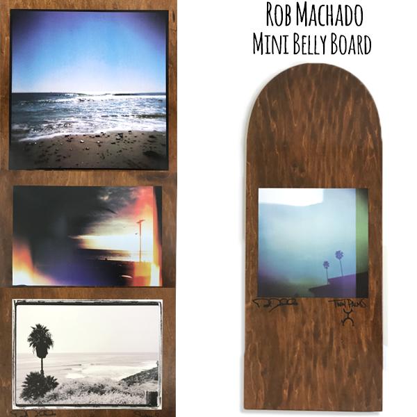 ロブマチャド Rob Machado Mini belly Board ミニベリーボード Wood サーフボード 4カラー
