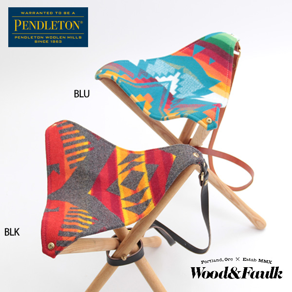 Wood & Faulk PENDLETON 手作り レザーブランド ペンドルトン コラボ ウッドアンドフォーク正規販売店