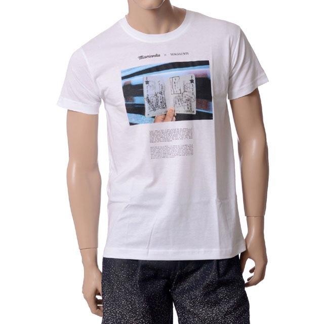 ミゼリコルディア (Misericordia) Tシャツ ヨコアンティオリジナル ホワイト 14s20c32001 レディース春夏 10,800円以上購入で送料無料 【正規取扱】