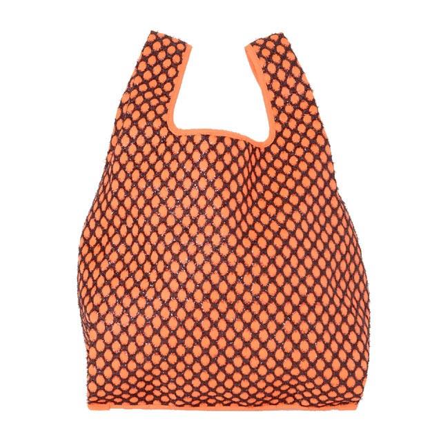 ライアン ロー (Ryan Lo) ラメメッシュ マーケットバッグ オレンジ b105oreange レディース春夏 3,980円以上購入で送料無料 【正規取扱】