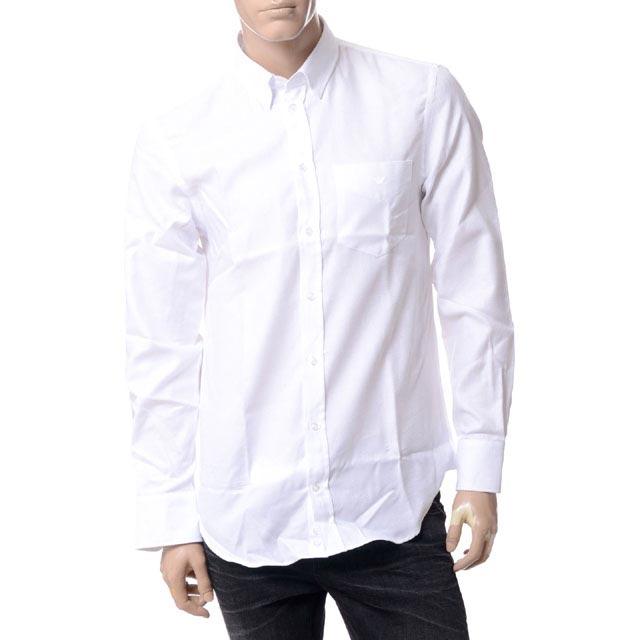 エンポリオアルマーニ (EMPORIO ARMANI) ポケットイーグルシャツ ホワイトv1ca6tv116c101 メンズ 送料無料 正規取扱