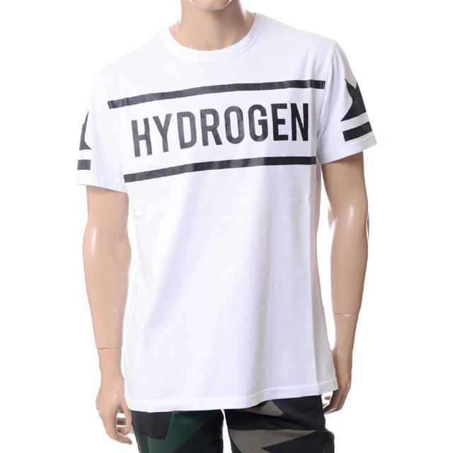 ハイドロゲン (Hydrogen) ブランドロゴTシャツ ホワイト21060641005100ICON T-SHIRT 2018SS メンズ春夏 10,800円以上購入で送料無料 正規取扱