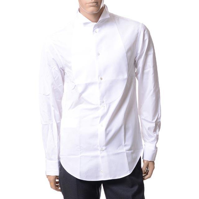 エンポリオアルマーニ (EMPORIO ARMANI) タキシードシャツ ホワイトw1cs3tw100c100 2018SS メンズ春夏 10,800円以上購入で送料無料 正規取扱