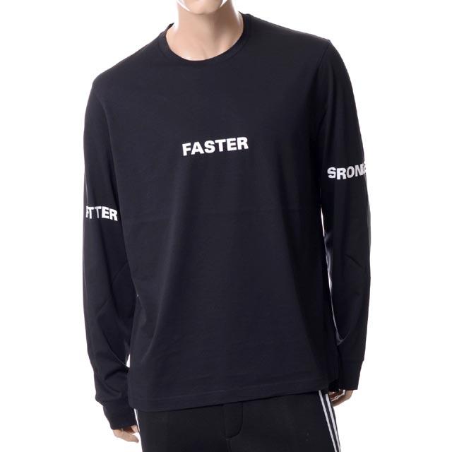 ブラックバレット (BLACKBARRETT) ロングTシャツ ブラックホワイトxjt173blkwht 2018AW メンズ秋冬新作 送料無料 正規取扱
