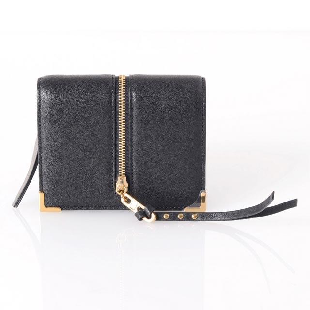 クロエ (chloe) 二つ折り長財布 ラムスキン ブラック p077733208v 送料無料 【正規取扱】