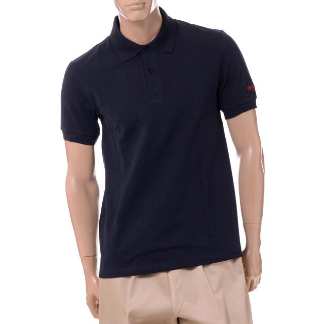 ラフシモンズ (RAF SIMONS) フレッドペリー FREDPERRY ポロシャツ コットン ネイビーsm8122608 メンズ春夏 送料無料 正規取扱