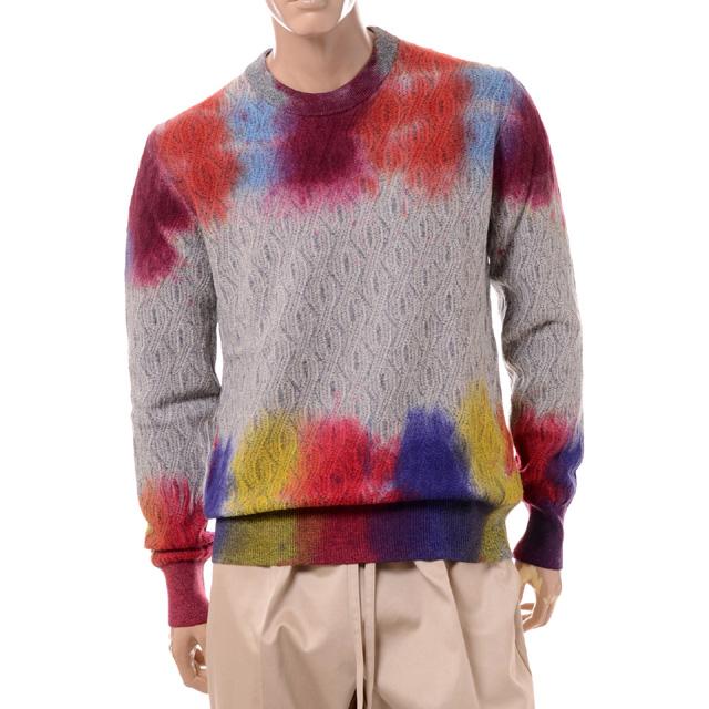 ミッソーニ (Missoni) セーター スプラッシュ52234830001121 2020AW メンズ秋冬新作 送料無料 正規取扱