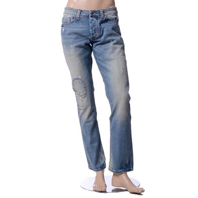 インペリアル (IMPERIAL) ダメージパッチワークジーンズ PY40HAP-021 3,980円以上購入で送料無料 【正規取扱】