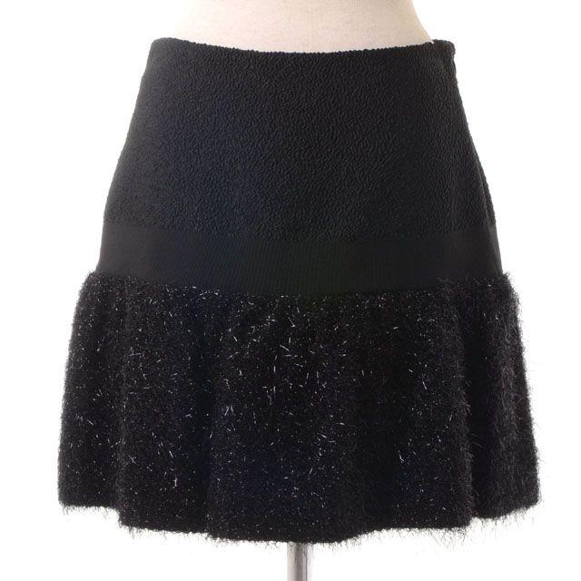 モスキーノ (MOSCHINO) ミニスカート ブラック 1015527 10,800円以上購入で送料無料 【正規取扱】