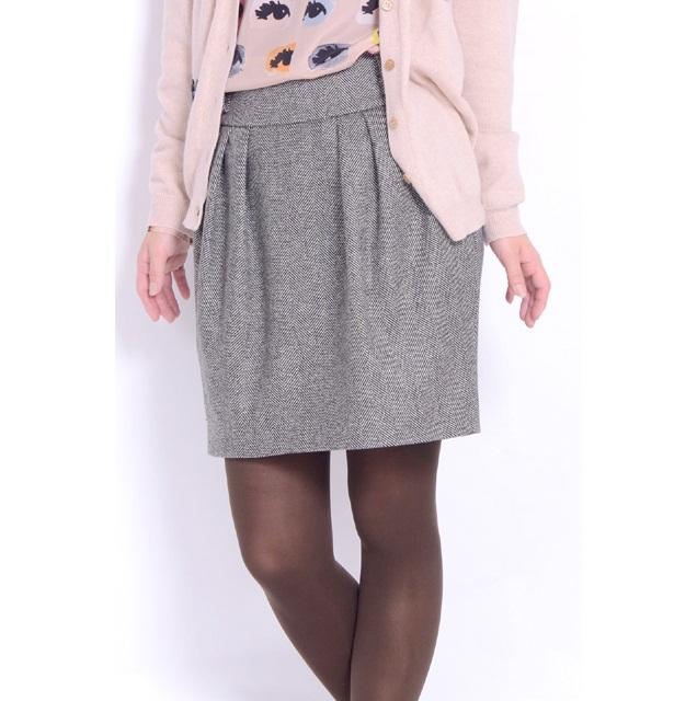 モスキーノ (MOSCHINO) ツイードスカート グレー 01225521-2003 10,800円以上購入で送料無料 【正規取扱】